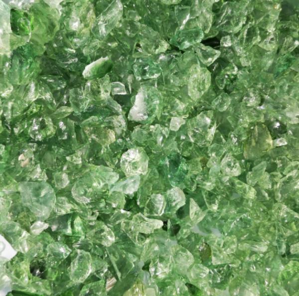 Glassplitt meeresgrün hellgrün - 5-10mm