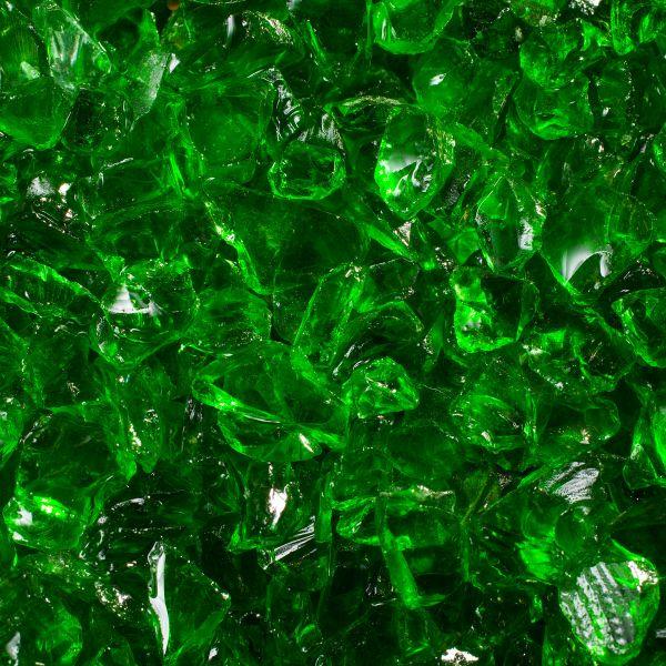 Glassplitt grün - 5-10mm