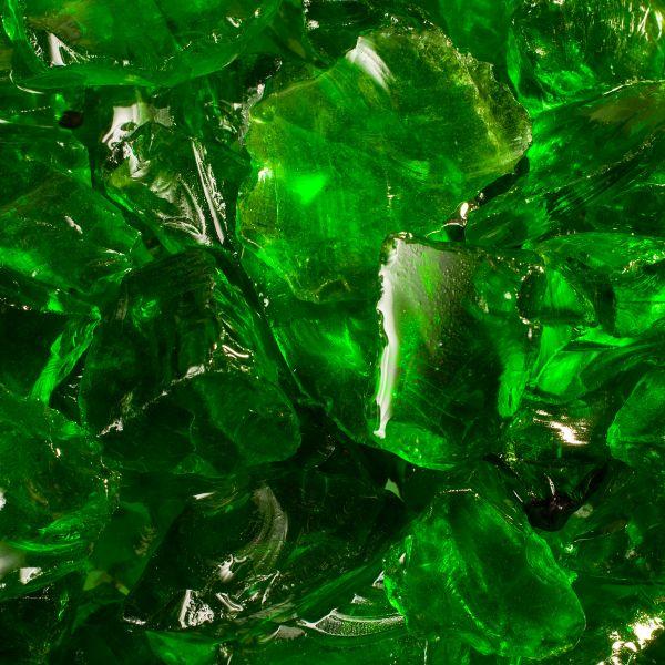 Glassteine grün - 20-35mm