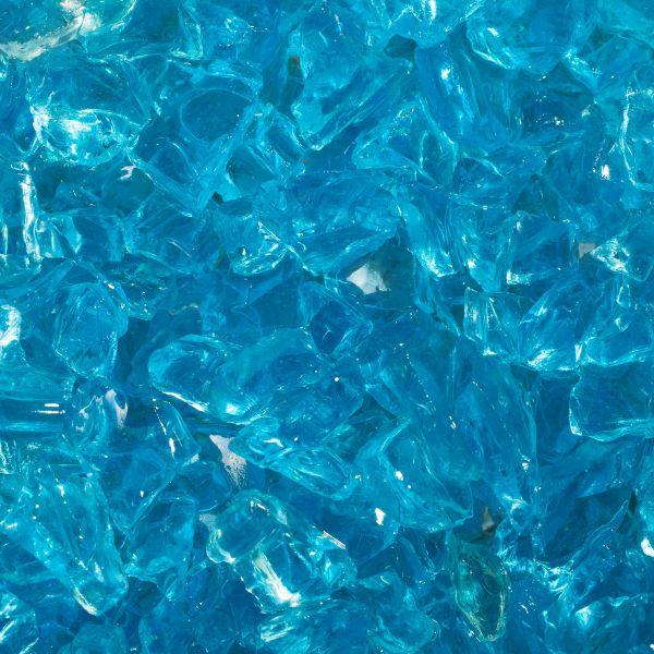 Glassplitt meerblau - 5-10mm